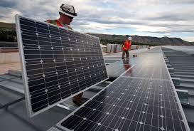 Maintenance panneaux solaires
